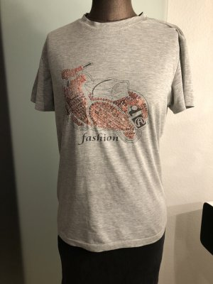 T-Shirt mit Pailletten Gr 40 M