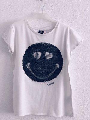T-shirt mit Pailletten Smileyworld
