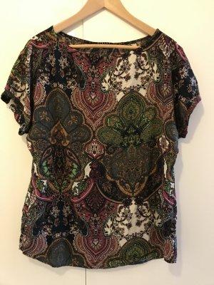 T-Shirt mit Paisley-Print von Sisley