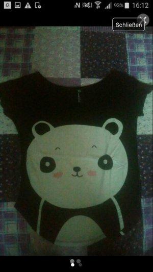 T-Shirt mit Panda Aufdruck