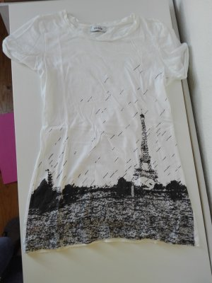 T-shirt mit Paris / Eiffelturm Print