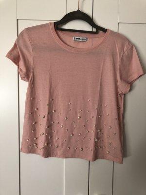 FB Sister Camicia cropped color oro rosa