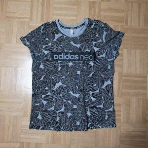 Adidas NEO T-shirt zwart-grijs