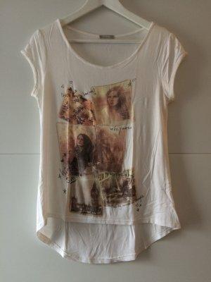 T-Shirt mit Print, Größe 36