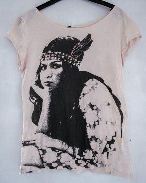 T-Shirt mit Print Größe 38