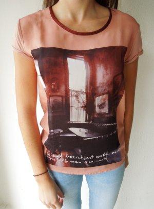 T-Shirt mit Print von Maison Scotch