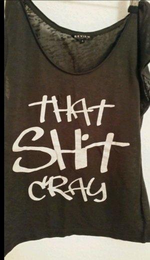 T-Shirt mit Print von Review