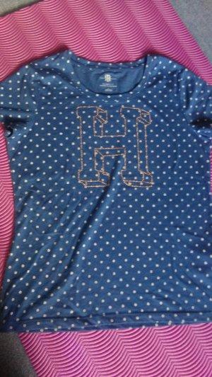 T-Shirt mit Punkten Tommy Hilfiger