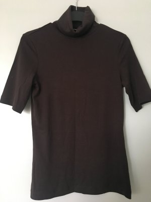 s.Oliver Turtleneck Shirt dark brown