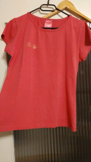 T-Shirt mit Rückenbedruck