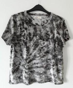 T-Shirt mit Samt