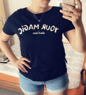 T-shirt mit Schleife