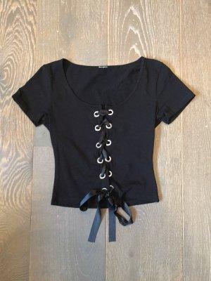 T-Shirt mit Schnürung