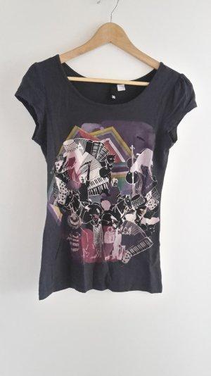 T-shirt mit schönem Muster