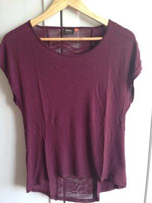 T-Shirt mit schönem Rückenausschnitt