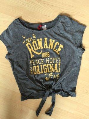 T-Shirt mit Schrift (bachfrei)
