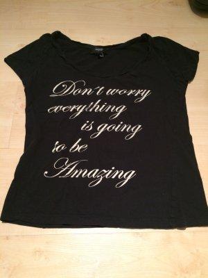 T-Shirt mit Schriftzug