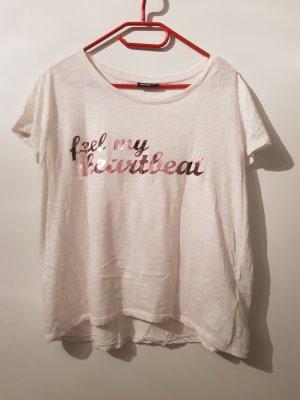 T-Shirt mit Schriftzug (neu/ungetragen)