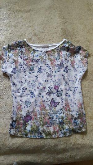 T-Shirt mit sehr schönem Schmetterlingsprint