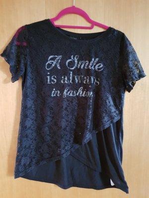 T-Shirt mit Spitze Gr. 36 Janina
