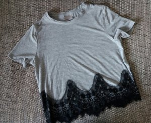 T-Shirt mit Spitze von Vero Moda