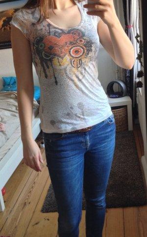 "T-Shirt mit ""Spray""-Print"