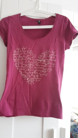 T-shirt mit spruch..