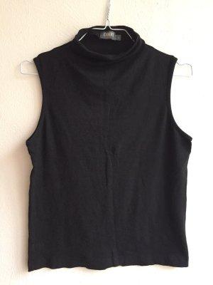 Camera Muscle Shirt black viscose