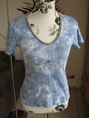 T-Shirt mit Steinen, Gr. 36-38