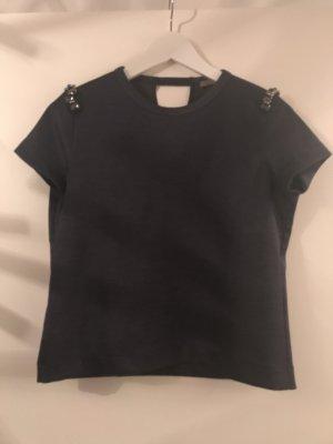 T-shirt mit Steinen und grau
