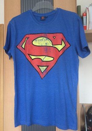 T-Shirt mit Superman Print