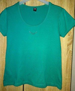 Trigema T-shirt groen-lichtgroen