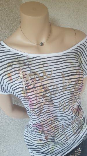 T-Shirt mit tollem Aufdruck - Gr. M