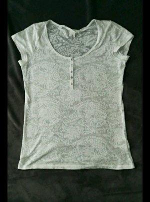 T-Shirt mit Transparentmuster