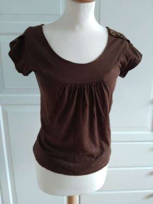 TRF T-Shirt brown cotton
