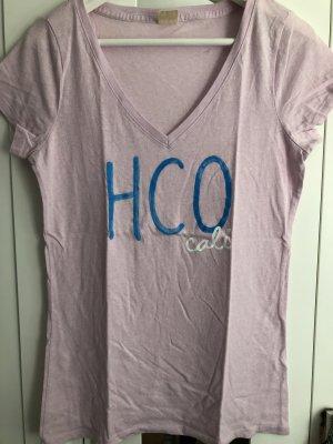Hollister T-shirt col en V rose clair