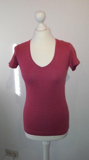 T-Shirt mit V-Ausschnitt, S