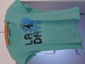 T-Shirt mit V-Ausschnitt und Print (Esprit)