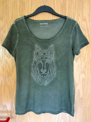 T-Shirt mit Wolf Motiv von TMC
