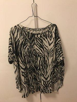 T Shirt mit Zebra Muster von H&M