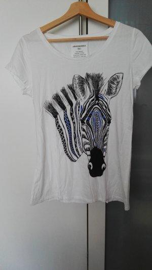 T-shirt mit Zebrakopf
