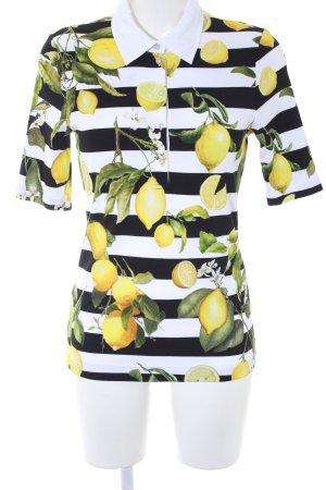 Camiseta estampado temático estilo extravagante