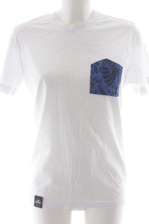 T-Shirt Motivdruck minimalistischer Stil