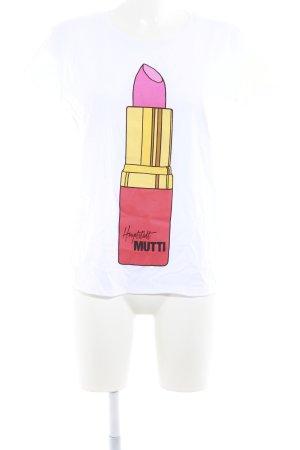 T-Shirt Motivdruck Street-Fashion-Look