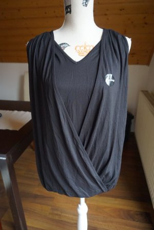 New Look Maglietta aderente nero