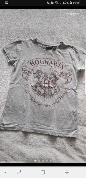T-Shirt neu grau Hogwarts Harry Potter 34 XS