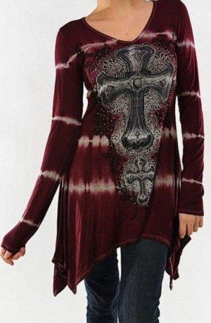 T Shirt, *NEU* mit Gothic Motiv, Gr.40/42
