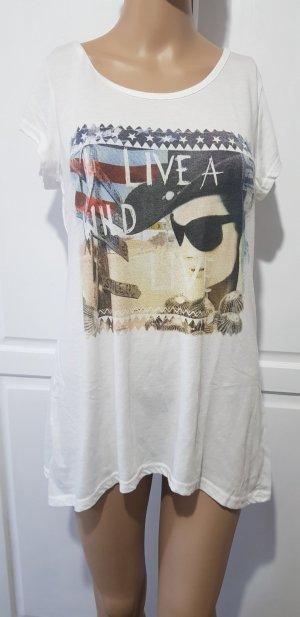 T-shirt Oberteil mit print