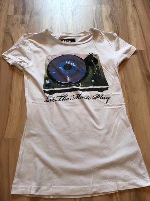 T-shirt oberteil von Gio Goi weiß Größe XS S 34 36 Shirt Top
