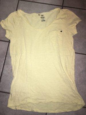 T-Shirt Only gelb in Größe M